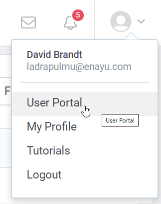 Switching to user interface in iSpring Learn