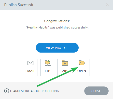 Publishing PPT slides in Articulate Storyline