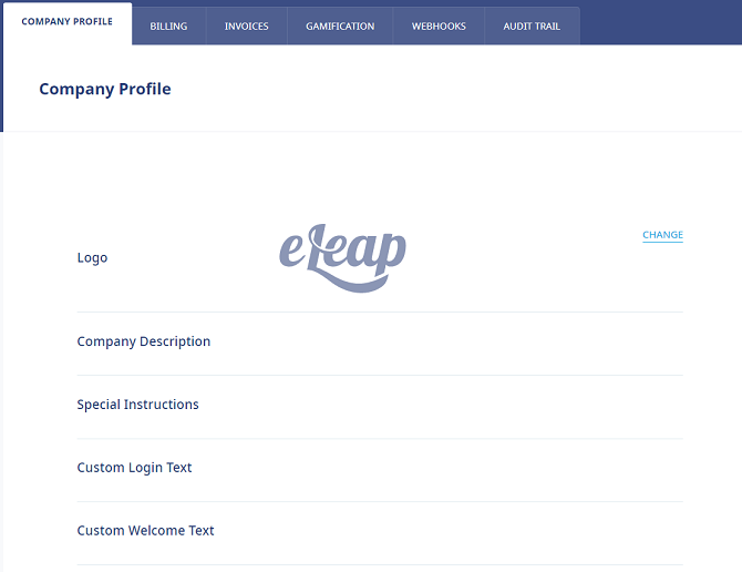 Branding in eLeaP LMS