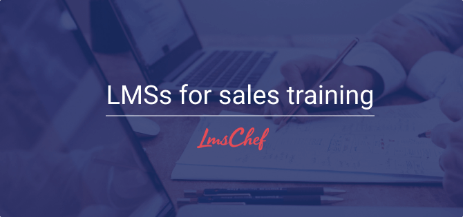 LMSs for sales training